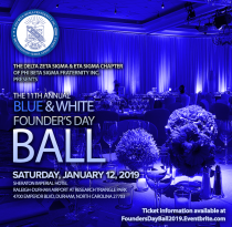 11th Annual B&W Founder's Day Ball (Durham/Raleigh, NC)